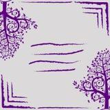 树盖子抽象EPS 10 免版税库存照片