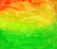 树胶水彩画颜料杂色冲程  库存照片