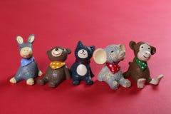 树脂玩具 免版税库存图片