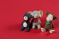 树脂玩具 免版税库存照片
