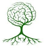 树脑子概念 免版税库存照片