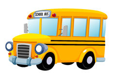 校车 向量例证