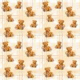 样式两玩具熊 免版税图库摄影