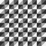 样式传染媒介无缝的多角形三角灰色 库存照片