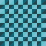 样式传染媒介无缝的多角形三角蓝色 图库摄影