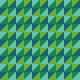 样式传染媒介无缝的多角形三角绿色 免版税库存图片