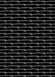 样式剃刀导线背景黑色 免版税库存图片