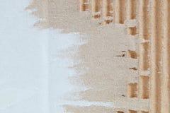 样式和背景的被撕毁的纸纹理 免版税库存图片