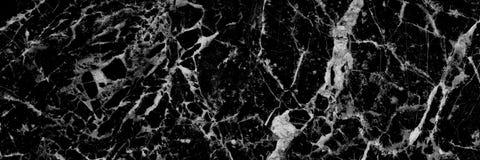 样式和backgr的水平的黑白大理石纹理 免版税库存照片