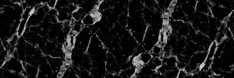 样式和backgr的水平的黑白大理石纹理 免版税图库摄影