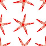 样式在被隔绝的背景的红海星