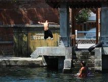 样式在水中 免版税图库摄影