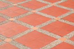 样式块砖地纹理砂岩或石头洗涤 免版税库存照片