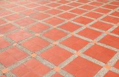 样式块砖地纹理砂岩或石头洗涤 图库摄影