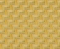 样式席子或被编织的竹墙壁 向量例证