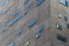 样式建筑背景在圣保罗,巴西 免版税库存图片