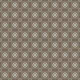 样式抽象几何圈子 免版税库存图片