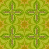 样式抽象图表紫色花绿色设计 图库摄影