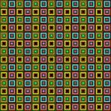 样式排行许多的箱子colorfull 向量例证
