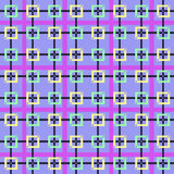 样式摆正紫色的颜色 免版税库存照片