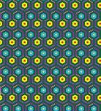 样式无缝的gexagonal 免版税图库摄影