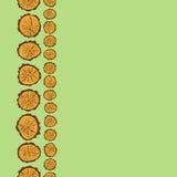 样式框架图画树锯裁减  免版税库存照片