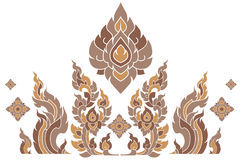 样式泰国 免版税库存图片