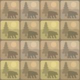 Pattern bear 库存照片