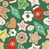 样式用圣诞节曲奇饼 库存图片