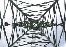 样式电定向塔 免版税库存图片