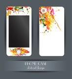 样式电话盒 您的手机的盖子 图库摄影
