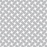 样式黑白色几何 免版税库存照片