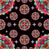 样式-色的东方装饰品 图库摄影