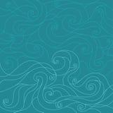 水样式 免版税库存图片