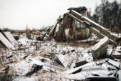 核冬天 图库摄影