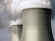 核冷却塔 免版税库存图片