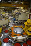 核反应堆大厅在能源厂 库存照片
