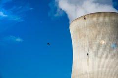 核发电站 免版税库存图片