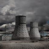 核发电站 免版税库存照片