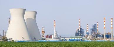 核发电站 免版税图库摄影