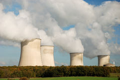 核发电站 图库摄影
