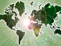核地球的行业 图库摄影
