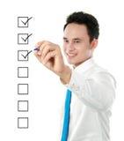 核对清单 免版税库存照片