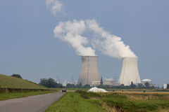 核工厂次幂 图库摄影
