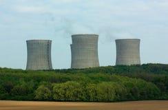 核工厂次幂 库存图片
