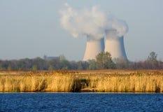核工厂次幂 免版税库存图片