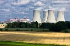 核工厂次幂temelin 库存图片