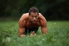 核心锻炼 免版税库存图片