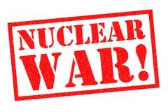核战争! 图库摄影