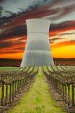 核日落 库存图片